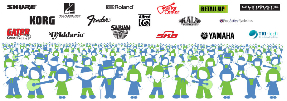 Supported NAMM Companies